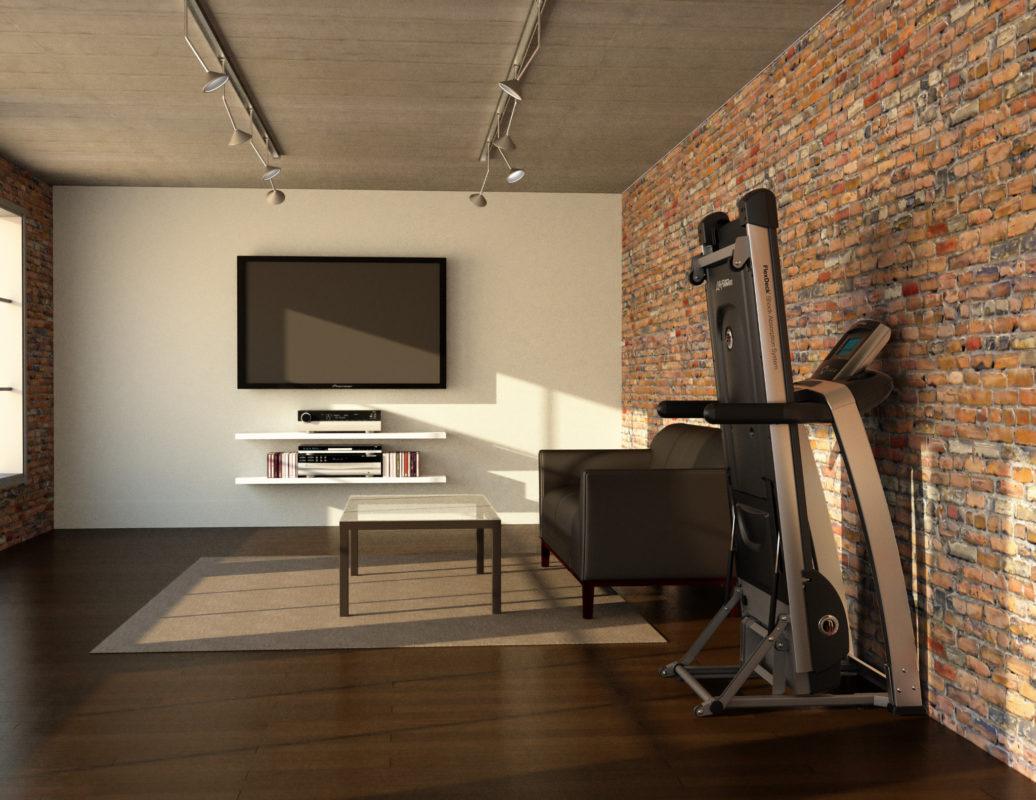 lifefitness f3 folding treadmill
