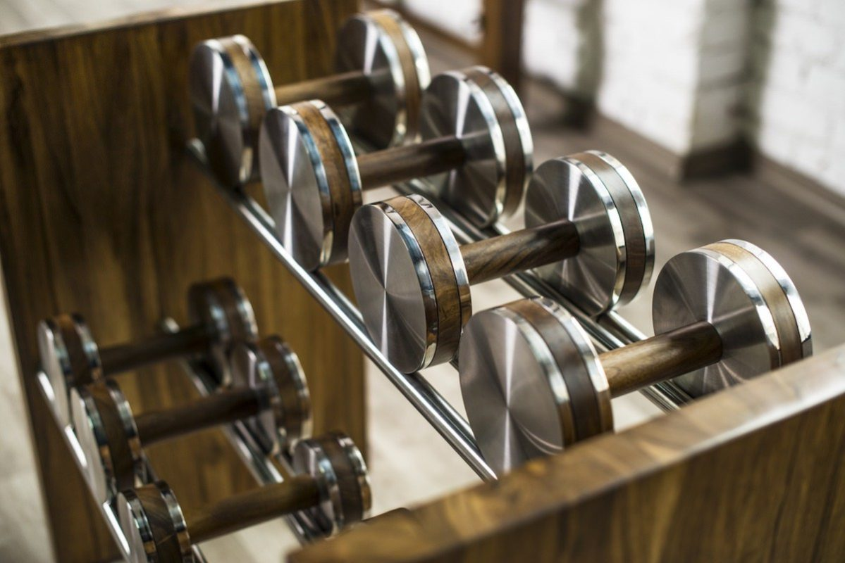 luxury dumbbells