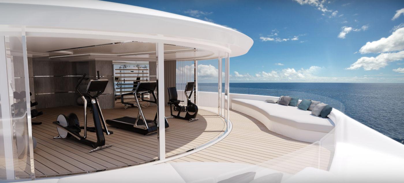 superyacht gym design