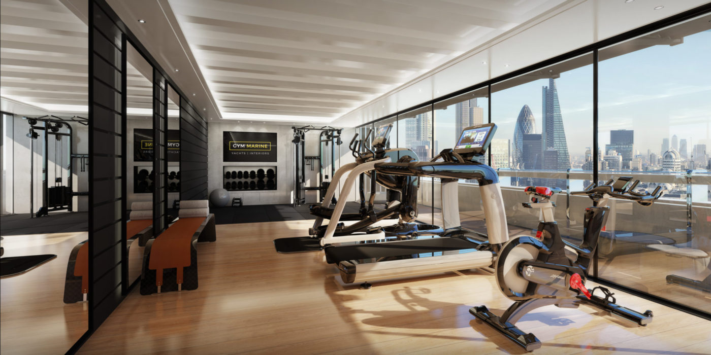 How to create the perfect home gym design by gym marine interiors