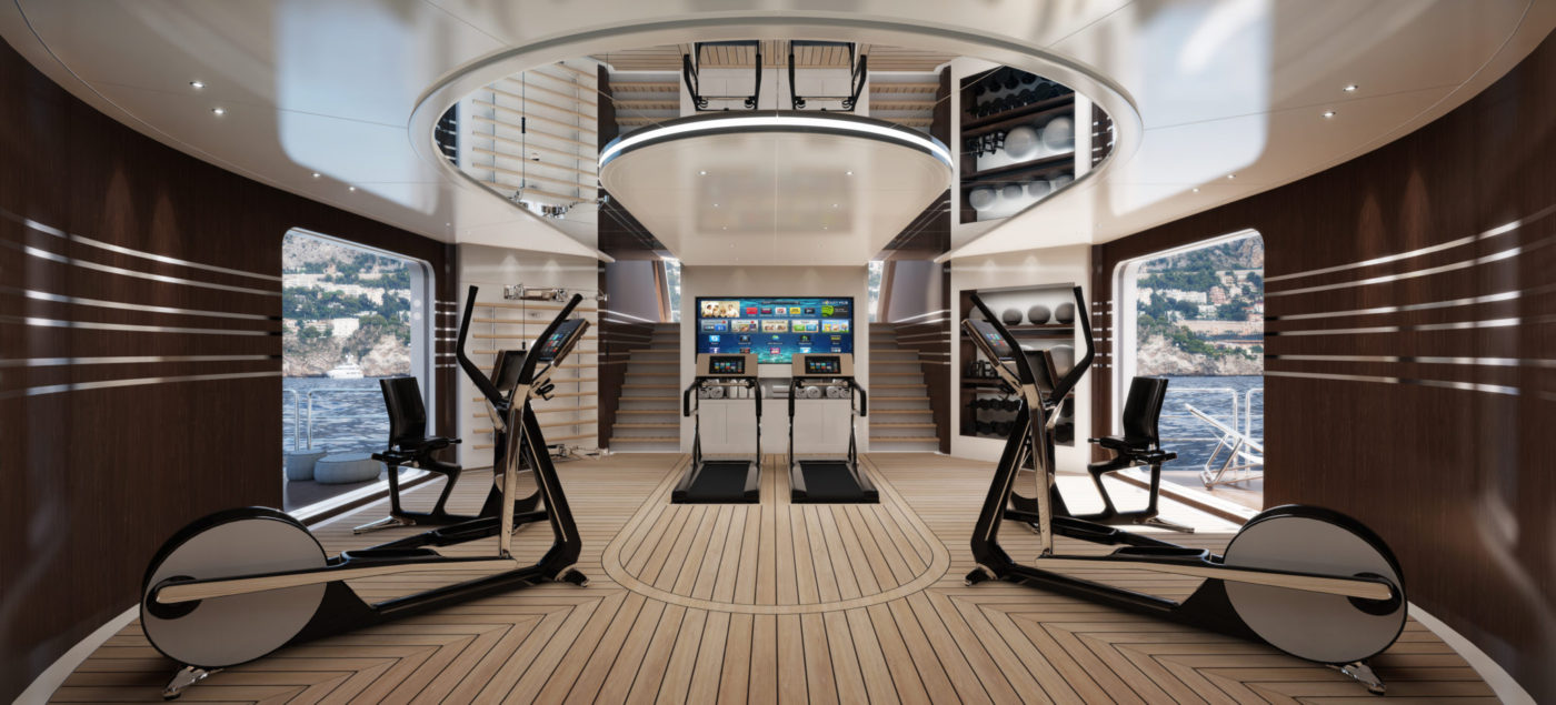 Gym Marine Yachts & Interiors - Gym Equipment