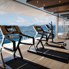 superyacht gym design
