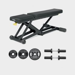 Technogym Personal Bench - Dark + kit