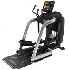 Life Fitness Platinum Club Series FlexStrider Variable Stride Trainer Arctic Silver
