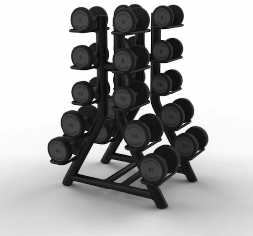 Technogym Vertical Dumbbell Rack