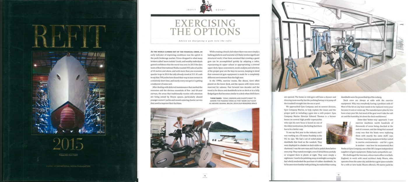 Gym Marine Yachts & Interiors - Press