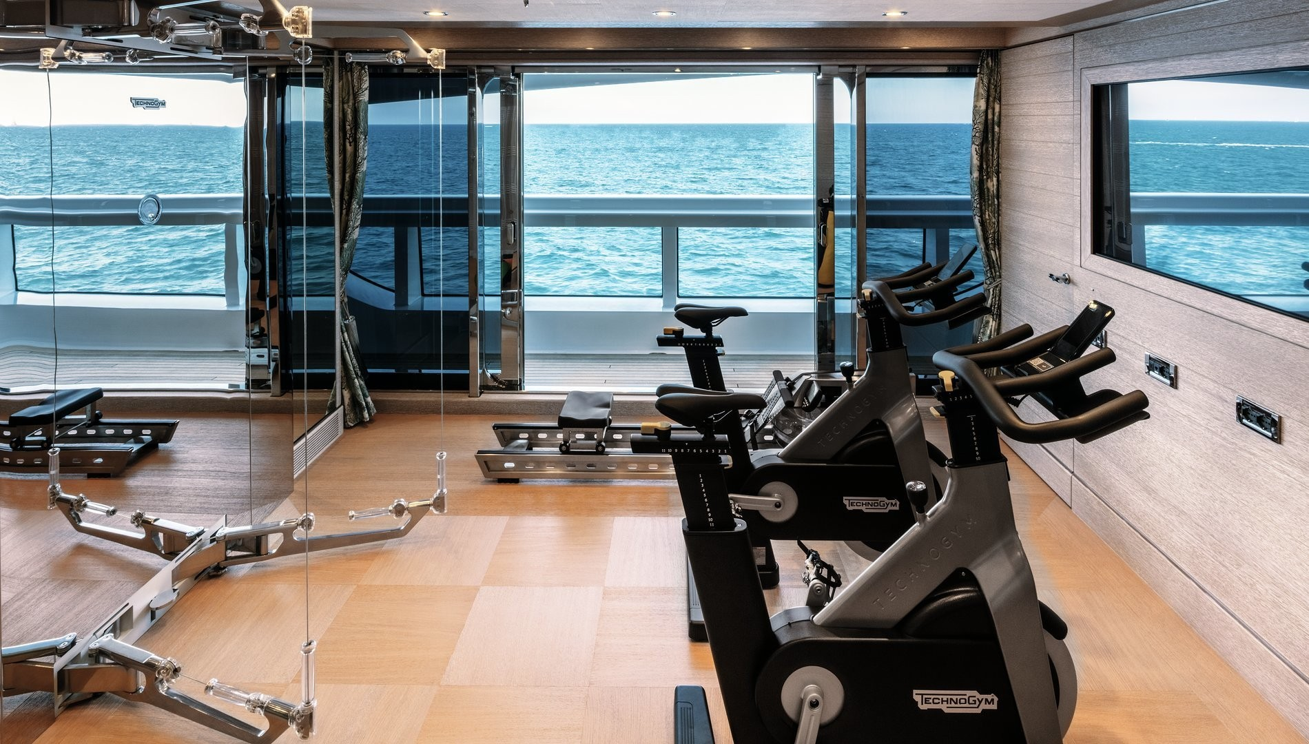 yacht gym equipment