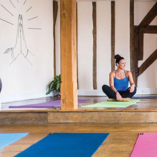 Yoga Mad Warrior II Yoga Mat
