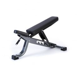 Jordan Fitness Adjustable Bench - Grey