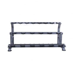 Graphite Grey Jordan 10 Pair Dumbbell Rack