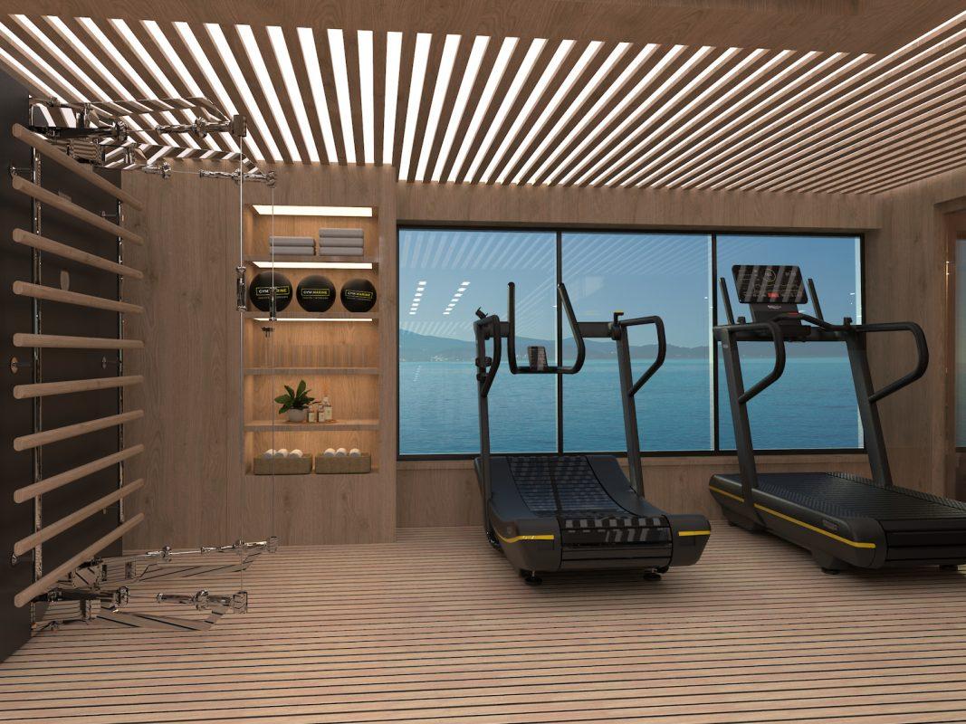 superyacht gym by gym marine