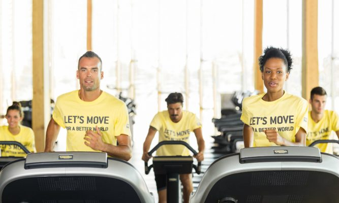 Move for a batter world with technogym