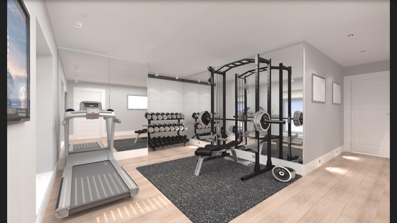 Interior Gym Design Concept