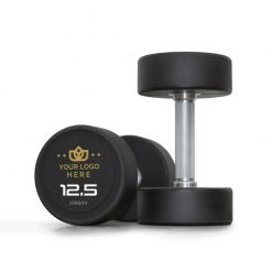 Jordan Custom Branded Urethane Dumbbells