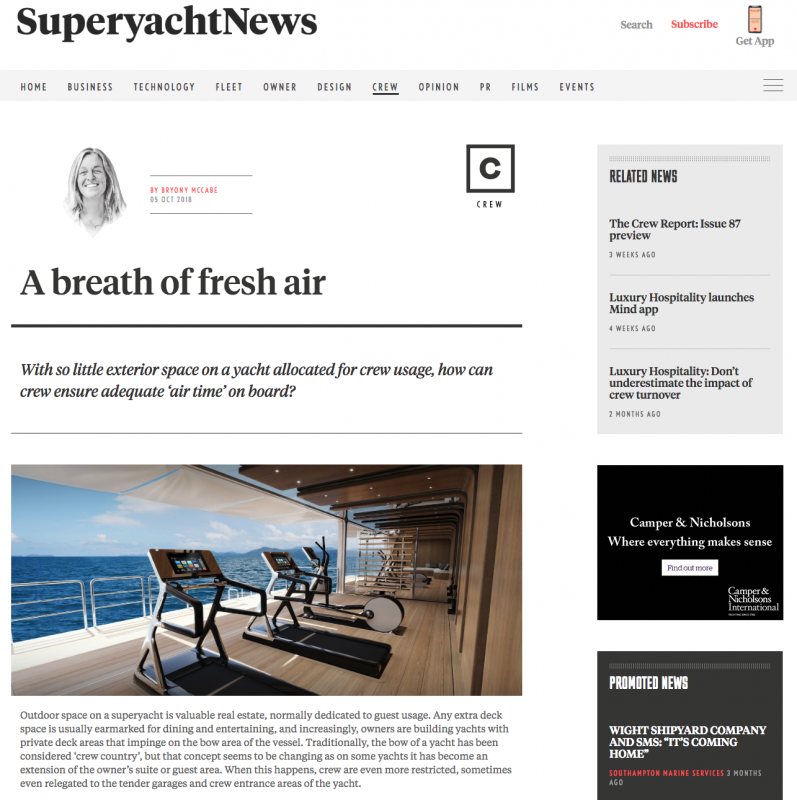 Superyacht News Press Coverage