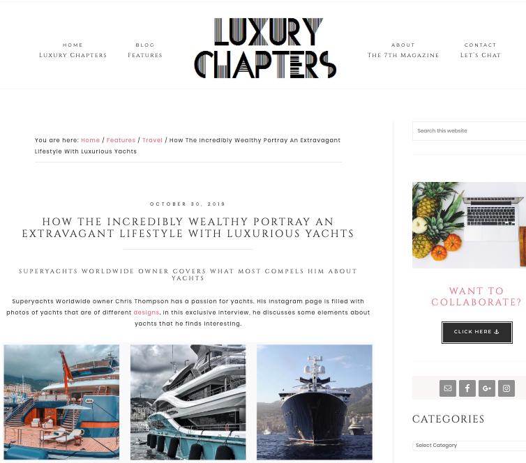 Luxury Chapters