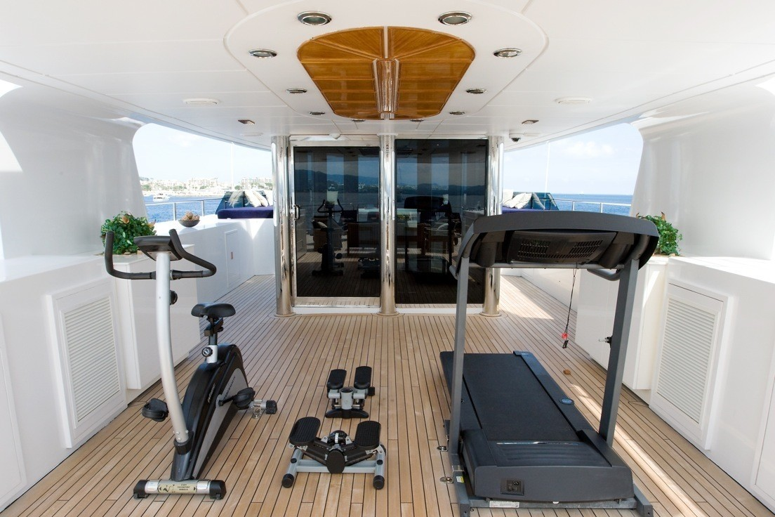 Superyacht Gym Rentals