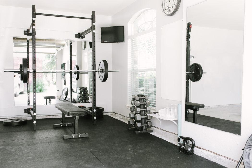 Home Gym Setup Source: Katie Lamb